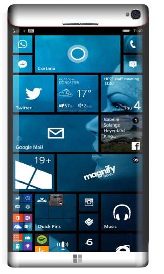 Microsoft Lumia 965 Concept White