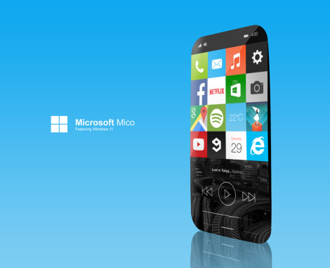 Windows 11 Concept for Mobile