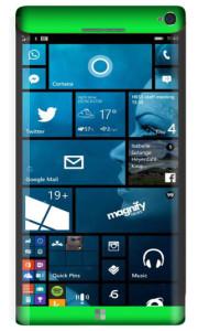 Microsoft Lumia 965 Concept Green